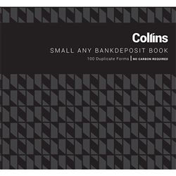 COLLINS DEPOSIT BOOK ANY BANK SMALL