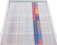 FILE-RITE TAB TOP SYSTEM 2501  STARTER P