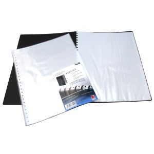 A3 REFILLABLE DISPLAY BOOK REFILLS PK10