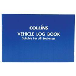 COLLINS VEHICLE LOG BOOK 40 LIMP 24 PAGE