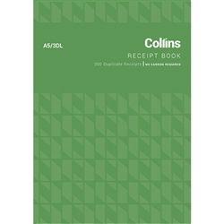 COLLINS CASH RECEIPT BOOK A5/3 DL