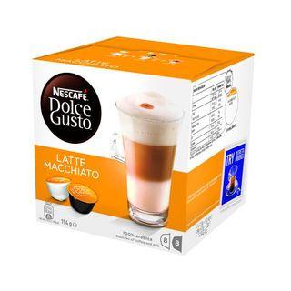 COFFEE CAPSULES DOLCE GUSTO LATTE MACHIA