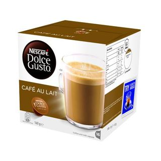 COFFEE CAPSULES DOLCE GUSTO CAFE AU LAIT