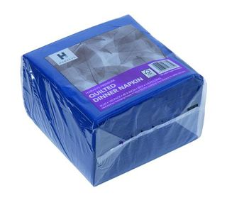DINNER NAPKIN HARVEYS BLUE PACK/100