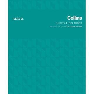 COLLINS QUOTATION BOOK 108/50DL