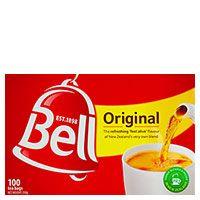 BELL TEA BAGS BOX/100