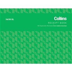 COLLINS CASH RECEIPT 45/50DL