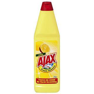 AJAX CREAM CLEANER LEMON 375ML