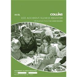COLLINS ECE ACCIDENT/ILLNESS REGISTER