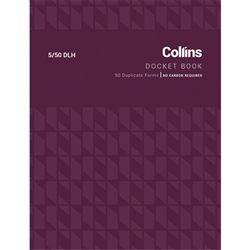 COLLINS DOCKET BOOK 5/50DLH