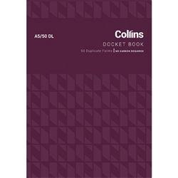 COLLINS DOCKET BOOK A5/50DL