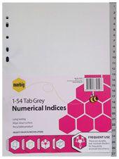INDICES MARBIG GREY A4 1-54 PP