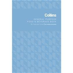 COLLINS G/ PURPOSE FOOD & BEV BOOK TRIP
