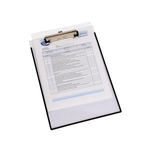 CLIPBOARD ACCO CLEARVIEW SINGLE A4