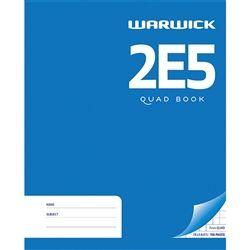 EXERCISE BOOK WARWICK 2E5 HARD COVER