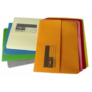 EASTLIGHT SLIMPICK DOCUMENT WALLET YELLO