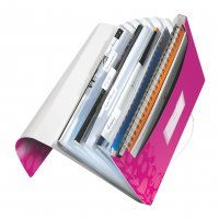 CONCERTINA FILE LEITZ WOW PINK