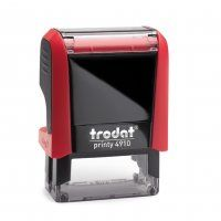 TRODAT PRINTY SELF INKING STAMP 4910 RED