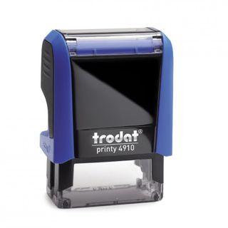 TRODAT PRINTY SELF INKING STAMP 4910 BLU