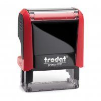 TRODAT PRINTY SELF INKING STAMP 4911 RED