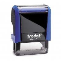 TRODAT PRINTY SELF INKING STAMP 4911 BLU
