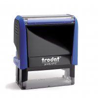 TRODAT PRINTY SELF INKING STAMP 4912 BLU