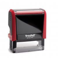 TRODAT PRINTY SELF INKING STAMP 4913 RED
