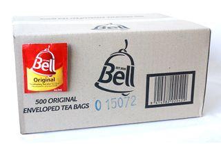 BELL TEA BAGS ENVELOPED BOX/500