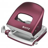 2 HOLE PUNCH LEITZ NEXXT GARNET RED