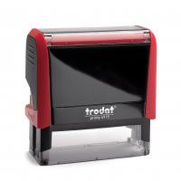TRODAT PRINTY SELF INKING STAMP 4915 RED