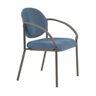 BURO ESSENCE GUEST CHAIR WITH ARMS BLUE