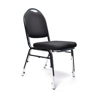 VISITOR CHAIR BURO BANQUET BLACK NO ARMS