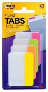 FILING TAB POST-IT DURABLE 686-PLOY