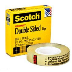 DOUBLE SIDED TAPE 3M SCOTCH 665 19x33