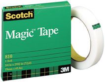 SCOTCH 810 MAGIC TAPE 19MM X 66M