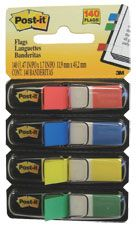 POST-IT FLAGS MINI 683-4 ASSORTED COLOUR