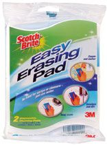 EASY ERASING PAD SCOTCHBRITE PKT/2