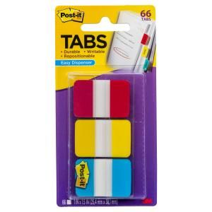 POST-IT DURABLE FILING TAB 686-RYB 25MM