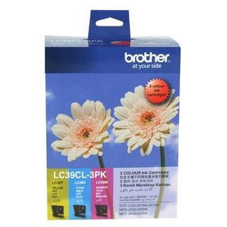 INK CARTRIDGE BROTHER LC-39CL3PK COLOUR