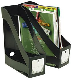 MAGAZINE HOLDER BLACK MARBIG ENVIRO