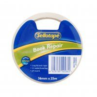 BOOK REPAIR TAPE 36MM X 25M SELLOTAPE