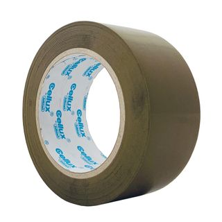 CELLUX PACKAGING TAPE TAN 48MMX100M
