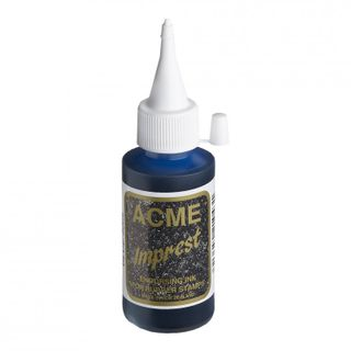 STAMP INK BLUE 50ML ACME