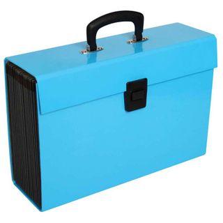 EXPANDING FILE FM VIVID ICE BLUE