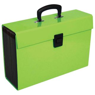 EXPANDING FILE FM VIVID LIME GREEN