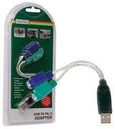 USB ADAPTOR DIGITUS CA1019 USB TO PS/2