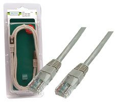 PATCH LEAD DIGITUS GREY 5M UNSHIELDED