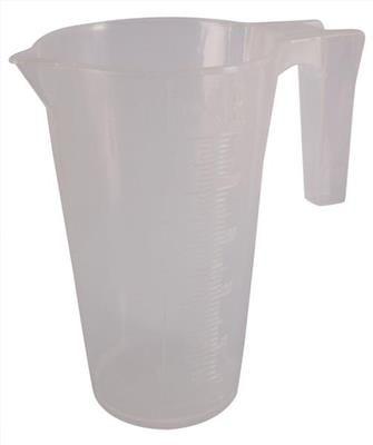 McGregors Opaque Plastic Measuring Jug - 250ml