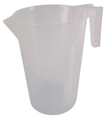 McGregors Opaque Plastic Measuring Jug 1 litre