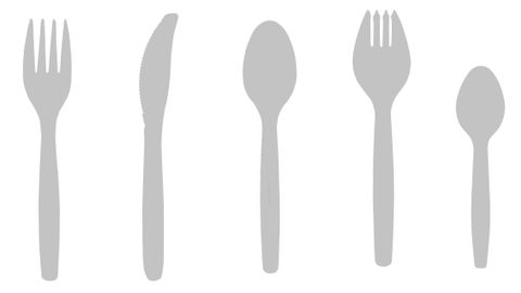 Costwise Plastic Knife 100 Pack